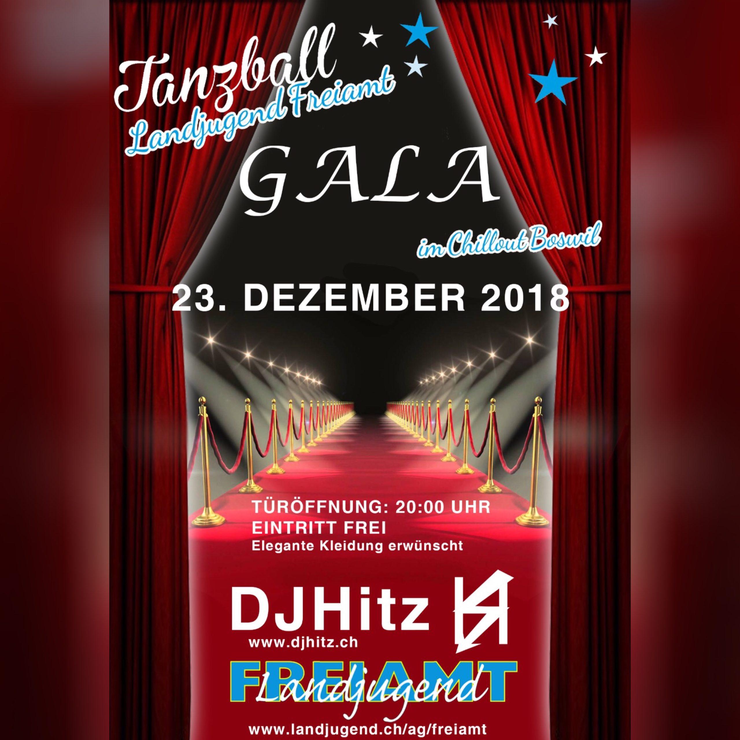 Gala Tanzball 2018 Flyer